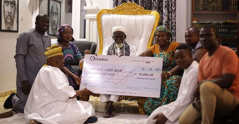 Zoomlion Donates To National Chief Imam On Eid-Ul- Fitr