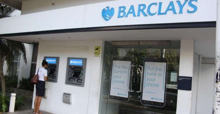 Barclays has been fined by the BoG