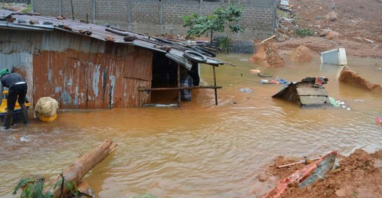 Accra's Rainfall; Re-enactment of  Ritual Shame