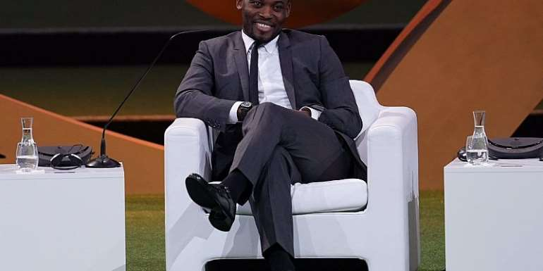Michael Essien Delighted To Speak At First Ever FIFA Women's Convention