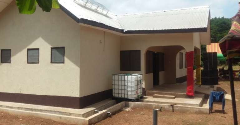 MCE For Tano South Commissions Health Facilities