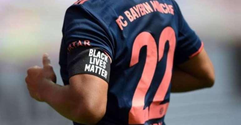 Bundesliga: Bayern Munich Players Wear Black Lives Matter Armbands During Bundesliga Victory