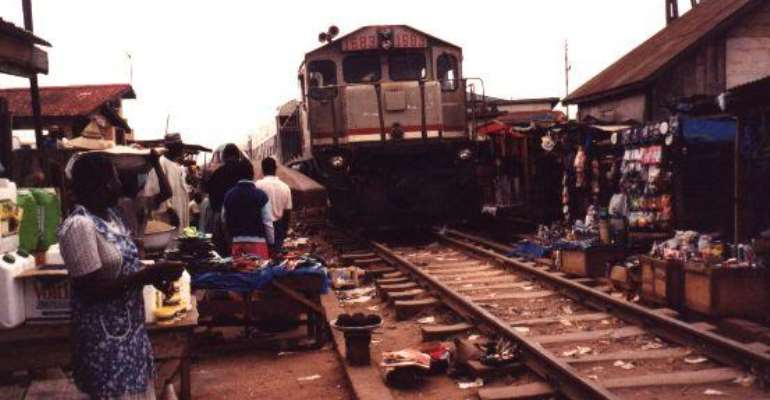 Railways Sale Wahala -Ghana man cries foul