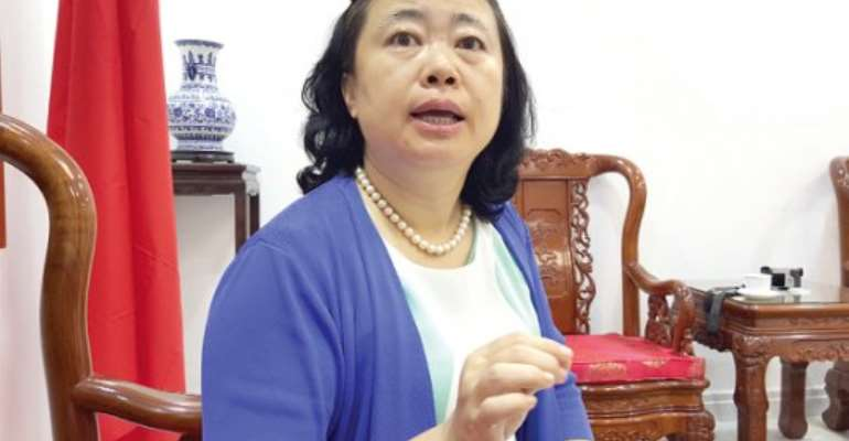 Chinese Embassy makes donation to Attorney General