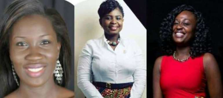 Three Ghanaian ladies for 2017 MILEAD fellows programme
