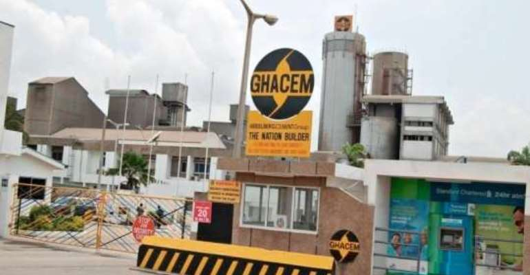 GHACEM presents dividend to government