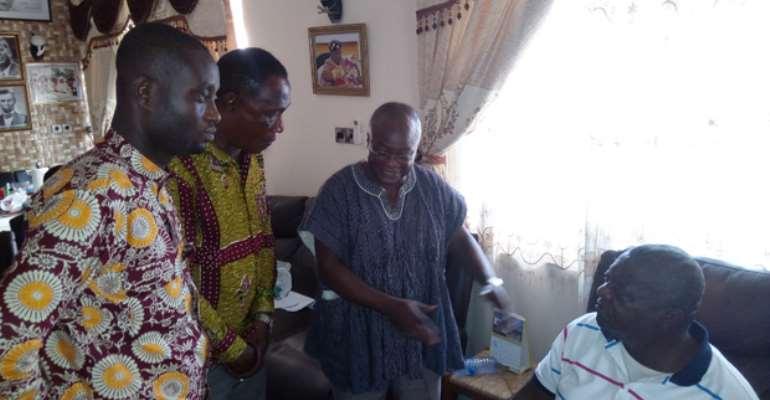 Aburi Chief Hails Nana