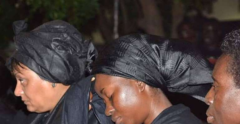 Mahama's widow Barbara barely talks – Father-in-law