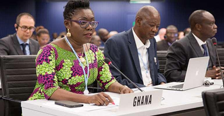 Ursula Owusu-Ekuful at a session
