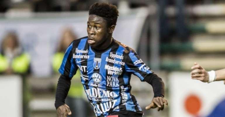 Sweden claim star midfielder Kingsley Sarfo chooses European nation over Ghana