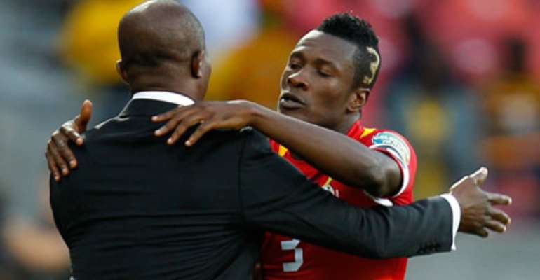 Ghana captain Asamoah Gyan says coach Kwesi Appiah has learnt from past mistakes