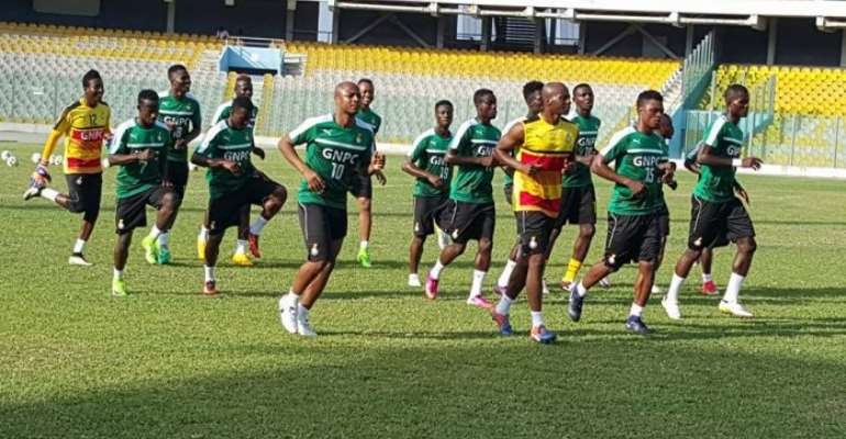 Local players showing mettle in Ghana squad ahead of Ethiopia clash