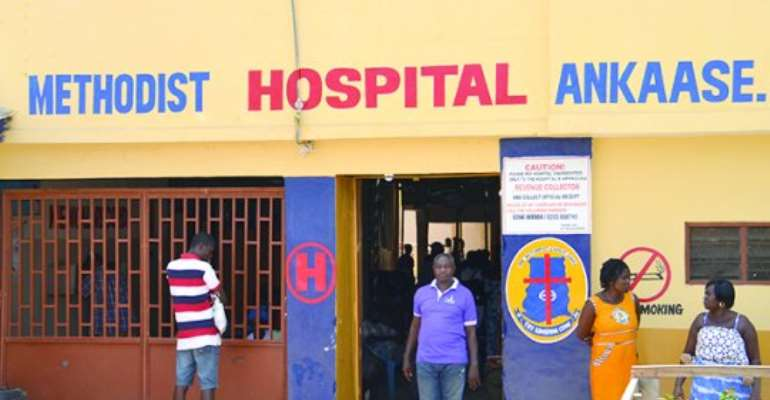 Hospital gets GHC200,000.00 Hostel