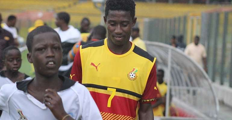 Inter Allies midfielder Isaac Twum excels for Black Stars team B in win against Gambia