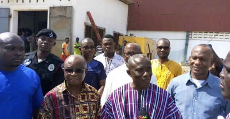 Minister leads delegation to broker peace between Adina residents and salt mining company