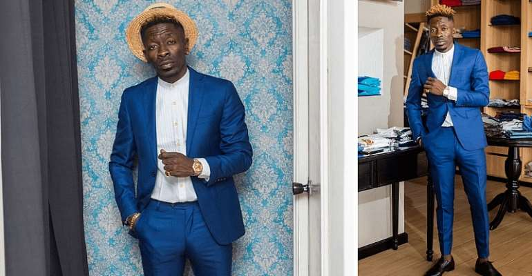 How Shatta Wale Is Trying To Avoid His New Name, 'Akoto Blue Blue.'