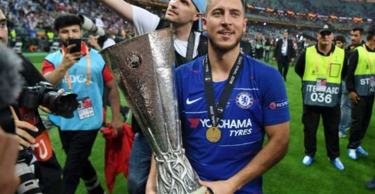 Real Madrid Sign Chelsea Forward Eden Hazard On A Five-Year Deal