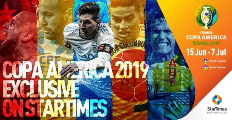 StarTimes Secures Exclusive Media Rights For Copa América Brazil 2019