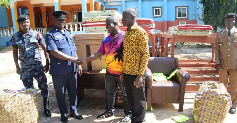 Asesewa MP Donates To Three Institutions