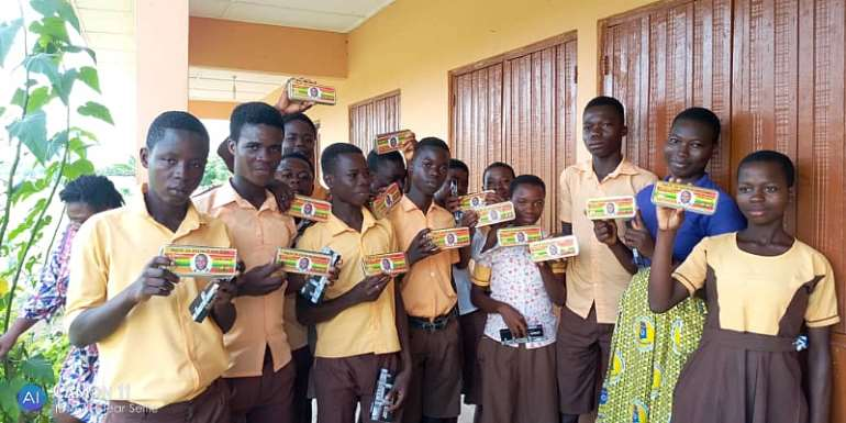 Suhum MP Donates Mathematical Sets To BECE Candidates