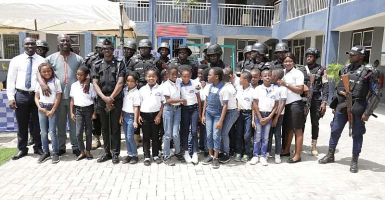 Ghana Police, Bambini Show On Safety And Security Workshop For Pupils