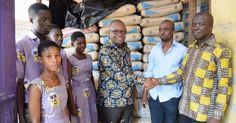 Boakye Agyarko Donates To Akro Tech SHS