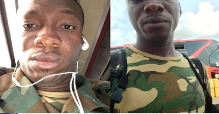 A search conducted in the room of Ahmed Tijani Abubakari revealed, a military bag with a set of camouflage military uniform, a jacket, two pair of boots and a Ghanaian passport bearing his name and photo.