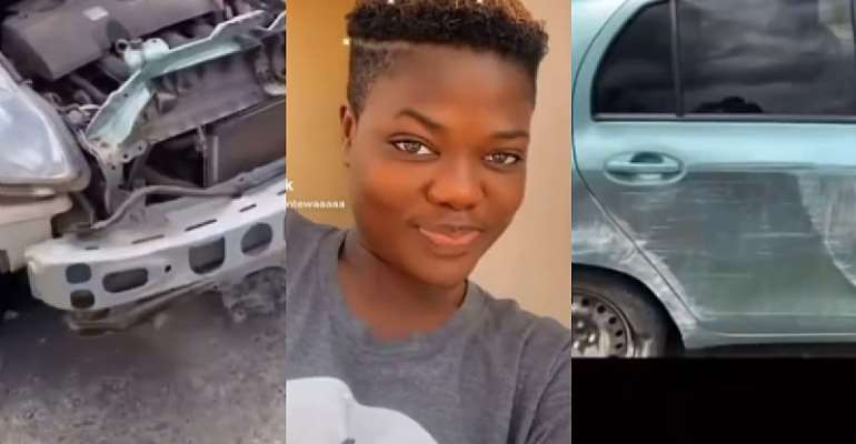 Koo Fori's daughter involved in accident (Video)