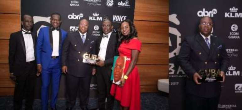 President Groupe Ideal grabs GUBA's Influential Economist award