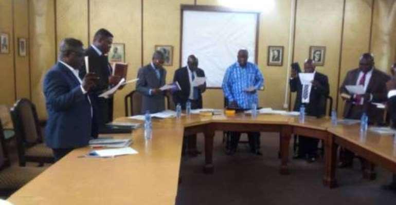 Ghana Railway inaugurates nine member tender committee