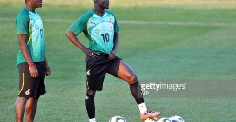 Appiah is a better leader than Gyan – Muntari