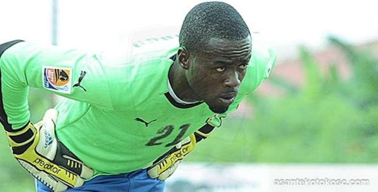 Aduana Stars goalie Stephen Adams backs Joseph Addo to be Black Stars number one