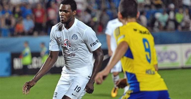 Former Ghana youth striker Benjamin Tetteh set to extend stay at Czech side Slovacko FC