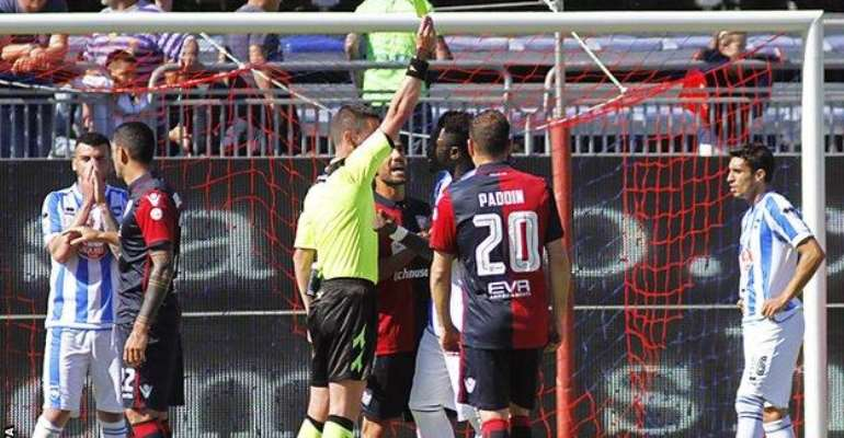 Racism row: Muntari claims GFA didn't solidarise with him – federation refutes player's claim