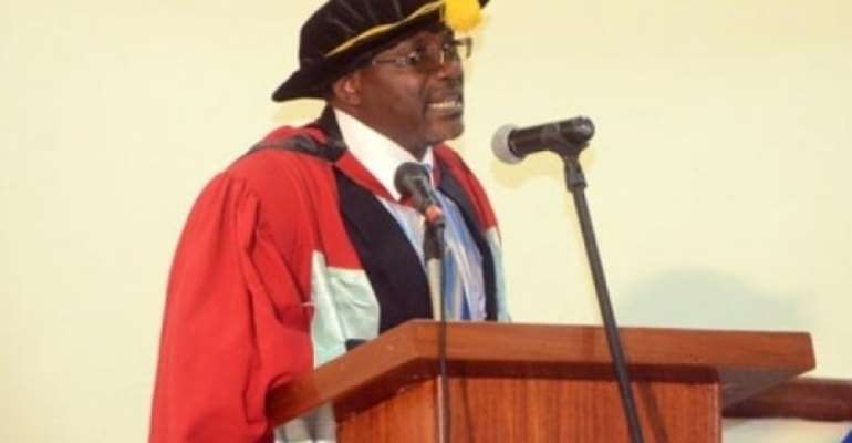 Prof Bondzi-Simpson Assumes Responsibly As Rector of GIMPA