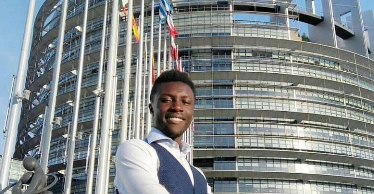 Ghanaian Student In Italy Elected To University Senate