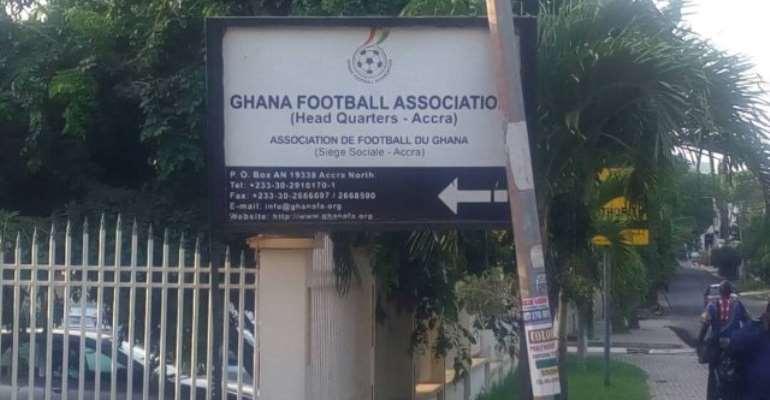 Police Declares GFA Headquarters As Crime Scene