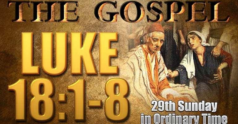 Hold The Line (luke 18:1-8)