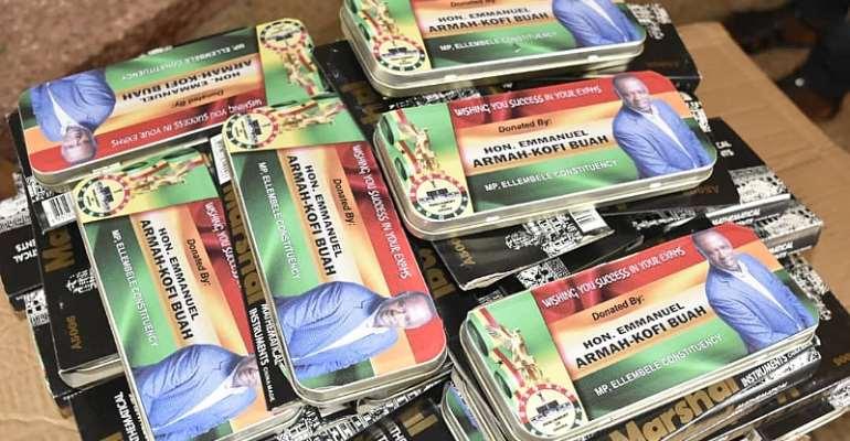 2000 BECE Candidates Get Armah Kofi Buah Branded Maths Set