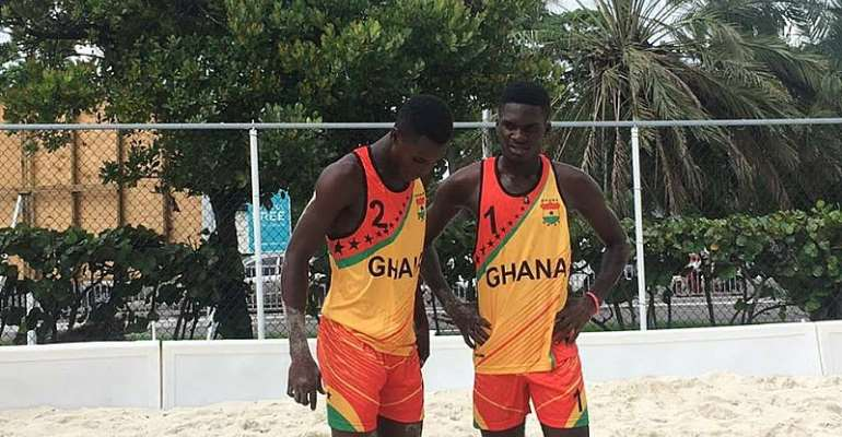 Ghana Beach Volleyball Team To Cause Surprise At SAL 2019