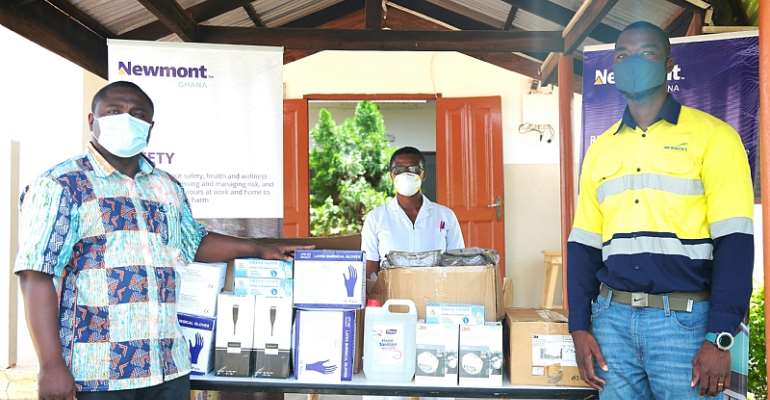 COVID-19 Fight: Newmont Ghana Supports Health Facilities In Eastern Region