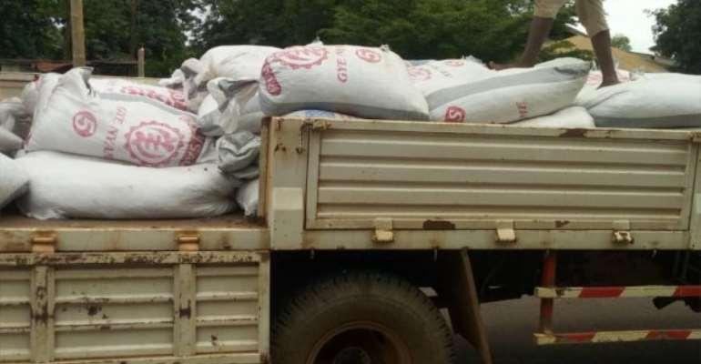 Akanu GIS Intercepts 79 Bags Of Cocoa Beans