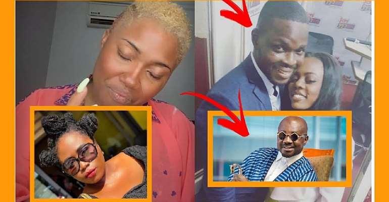 Abena Korkor blast Ghanaians after listing celebrities who 'chopped' her