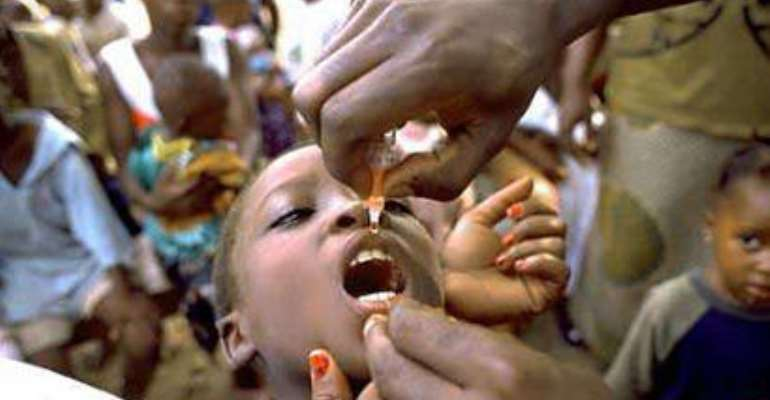 Many children not immunised due to inaccessible roads