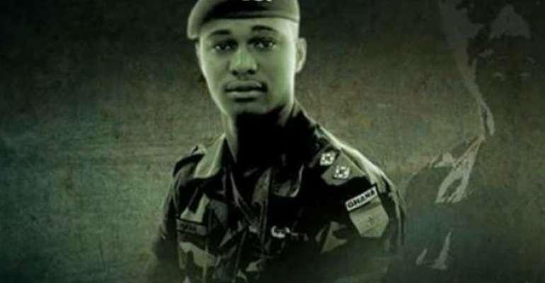 Tribute to Mahama by military intake mates