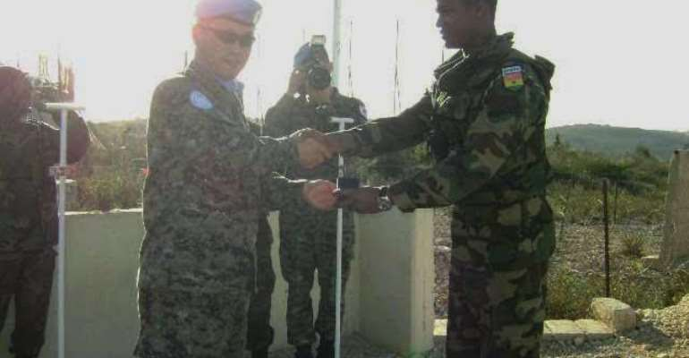 Tribute by GAF to Major Maxwell Mahama