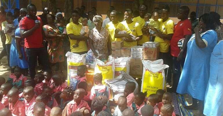 Black Stars to donate to the Kumasi Children Home orphanage today
