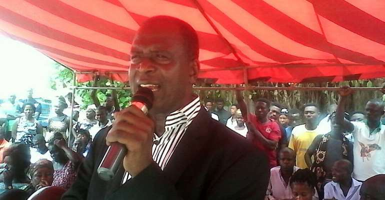 DCE Calls For Reconciliation In Asunafo South