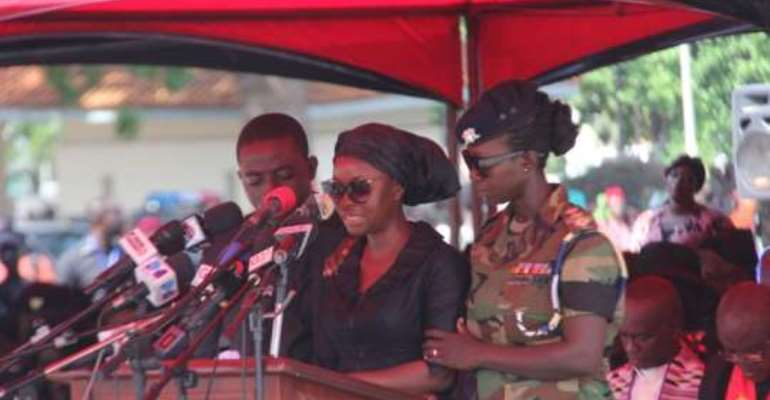 'You're a great husband'- Wife of Major Mahama