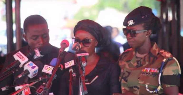 Adonko boss donates to late Maxwell Mahama's wife